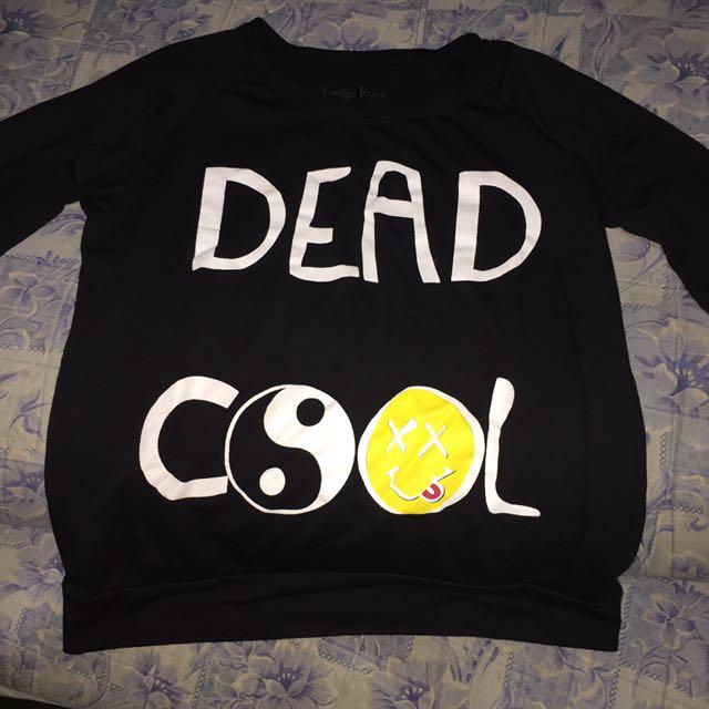 """Fudge Rock Sweater """" Dead Cool """""""