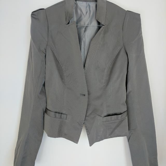 Grey Blazer Sz 6