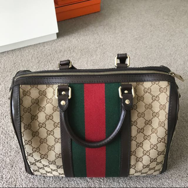 Gucci Boston Bag Authentic