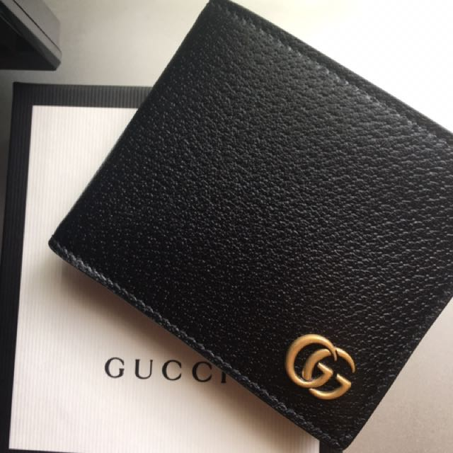 40bb23ecff89 Gucci Marmont Leather Bi-fold Wallet, Men's Fashion, Bags & Wallets on  Carousell
