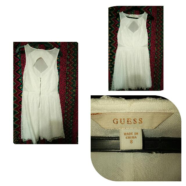 guess backless dress