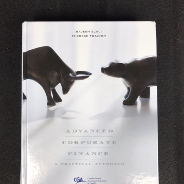 Hardcover Finance Textbook