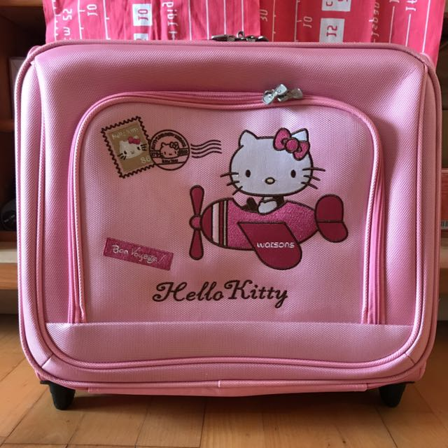 Hello Kitty登機行李箱