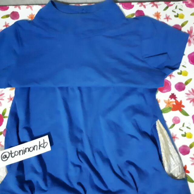 Hip Stop Blouse (Royal Blue)