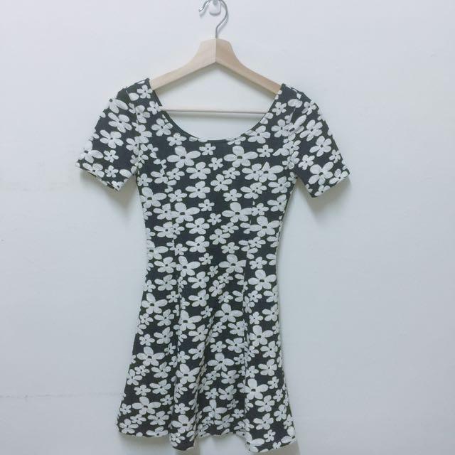 H&M花朵洋裝