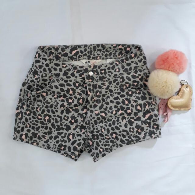 H&M Leopard Shorts For Kids