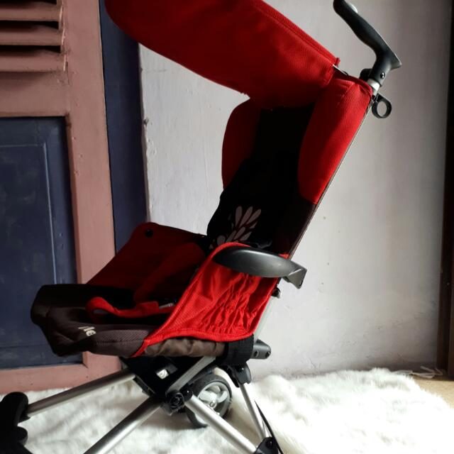 Iflex Stroller Cocolate - Red