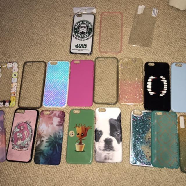 IPHONE 6/S Bundle 18 Cases!
