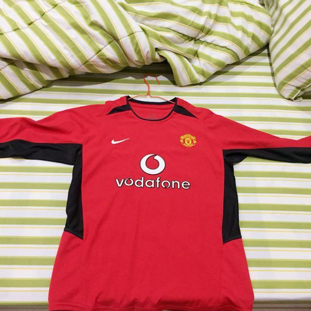 Jersey Manchester United Original Home Season 02/04 Longsleeve