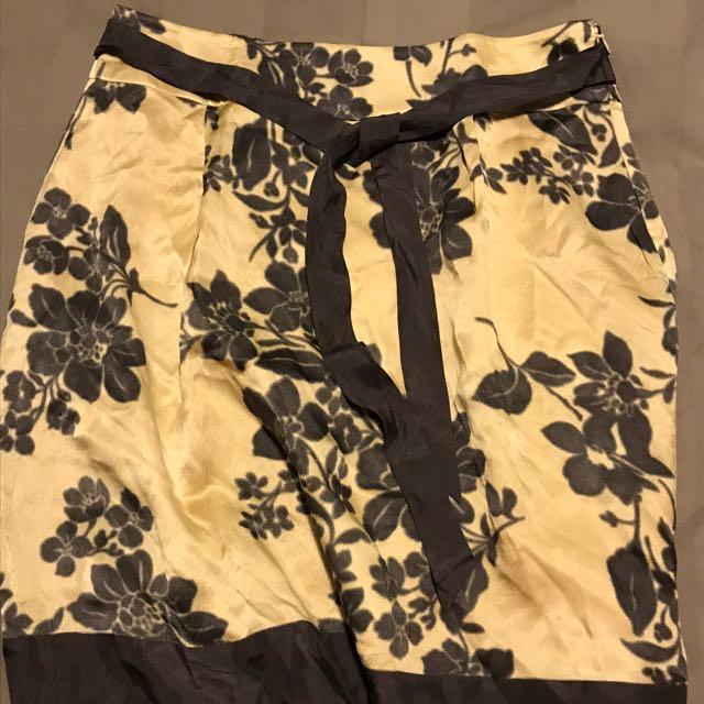 Jigsaw Satin Skirt Size 12