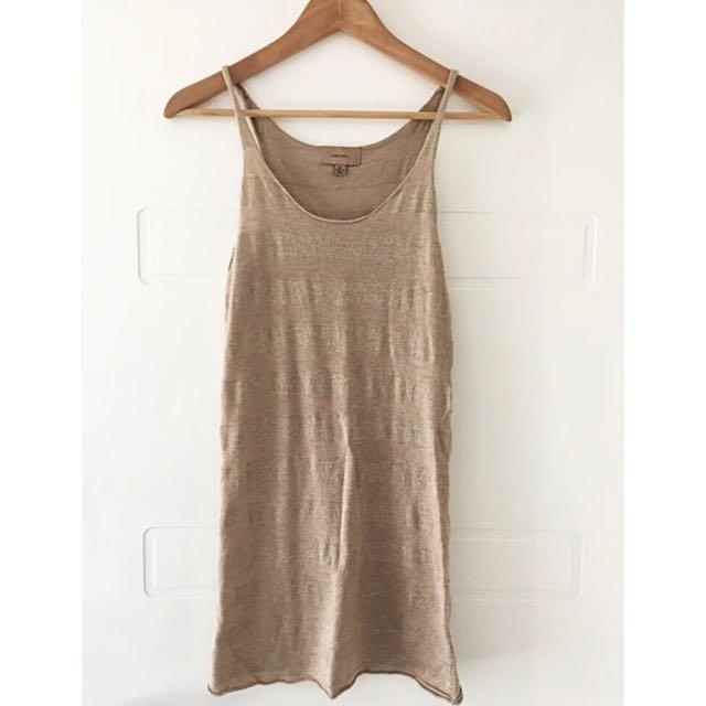 Kachel Women's Gold Knit Top