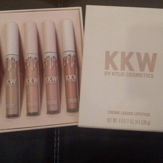 KKW Lip Collection by Kylie Cosmetics