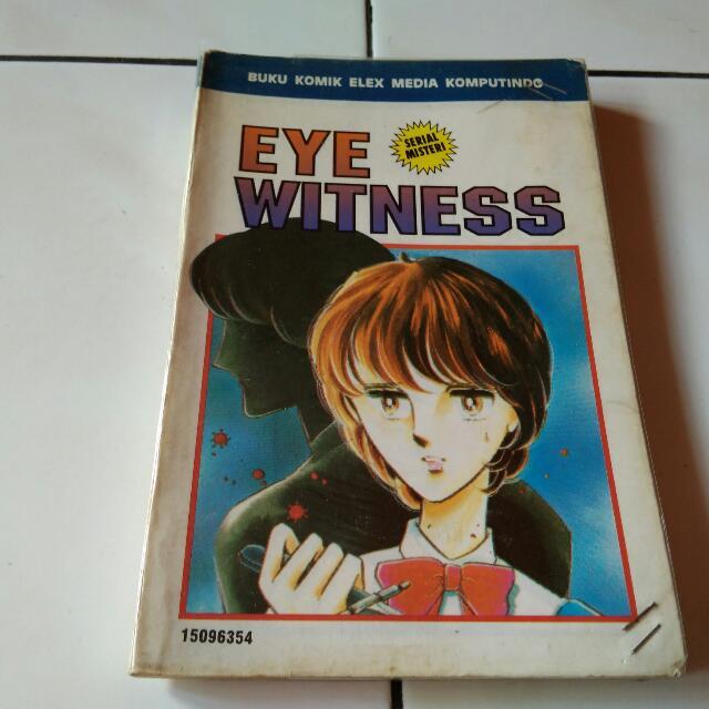 Komik Serial Misteri Eye Witness By Chie Shinohara