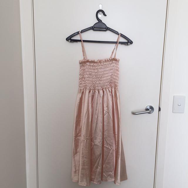 Korean Inspired Pink Dress