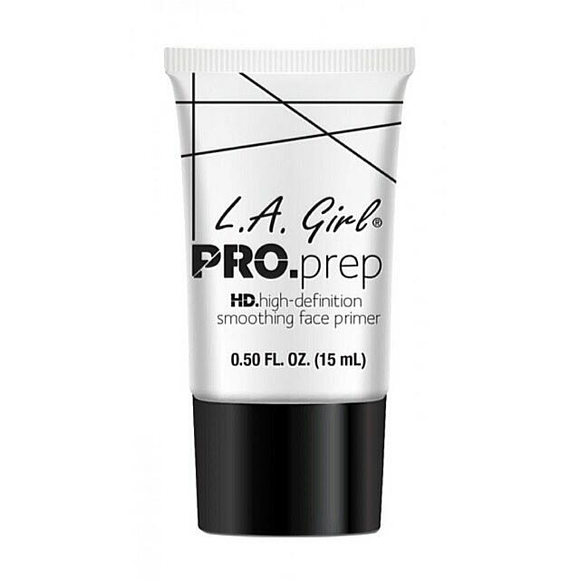 L.A. GIRL Pro Prep HD Smoothing Face Primer 100% Original By. LA Girl USA