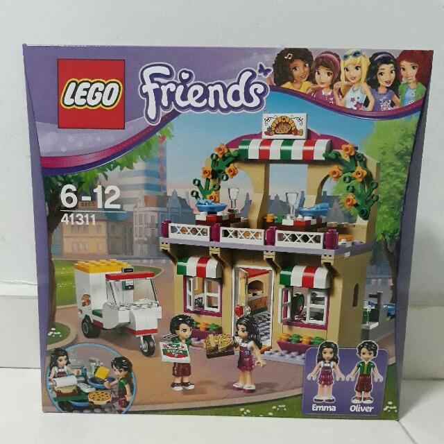Lego Friends 41311 Heartlake Pizzeria Toys Games Bricks