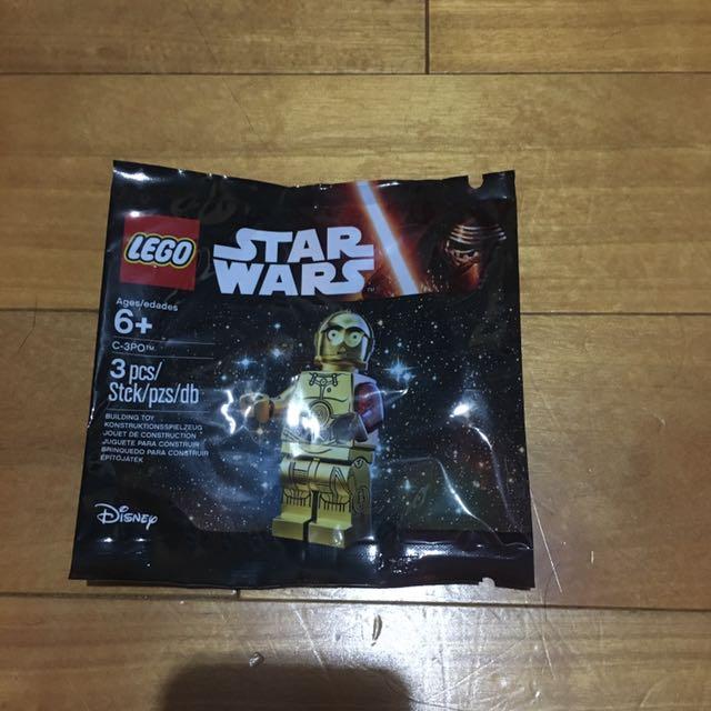 Lego 樂高Star Wars小金人