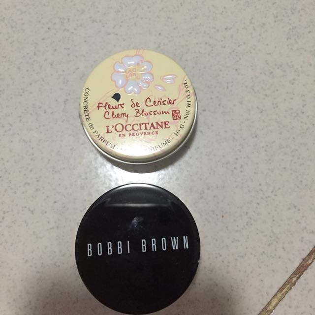 Loccitane & Bobby Brown