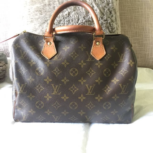 Louis Vuitton Authentic Pre Owned Speedy 30