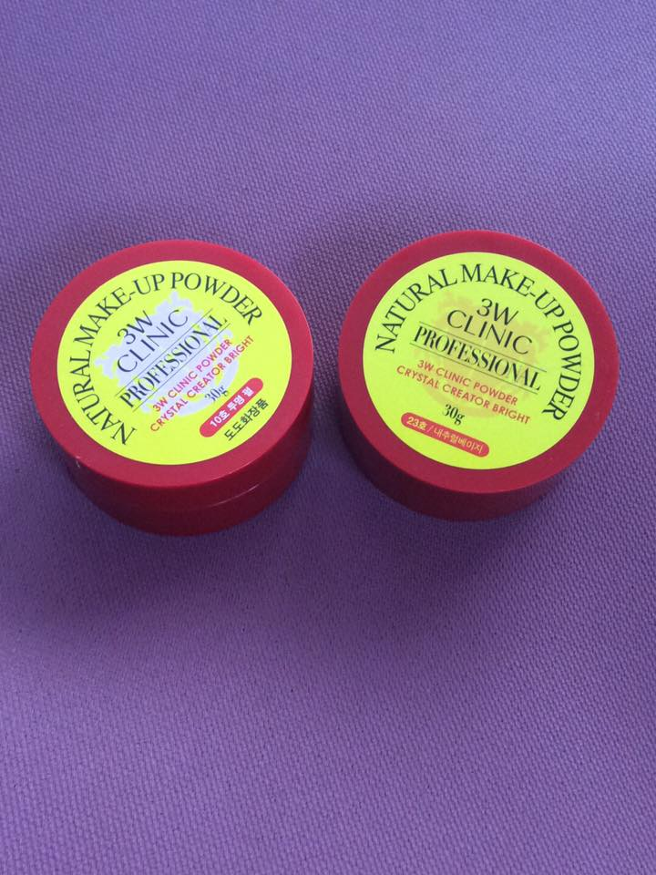 Loved. 3W Finishing Powder - about 85% left in both containers.
