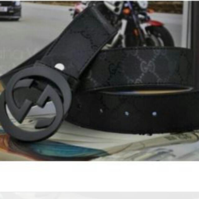 Lovely #unisex black #Gucci #belt Lenght 96cm