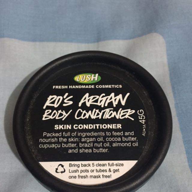 Lush Ro's Argan Body Conditioner 45g