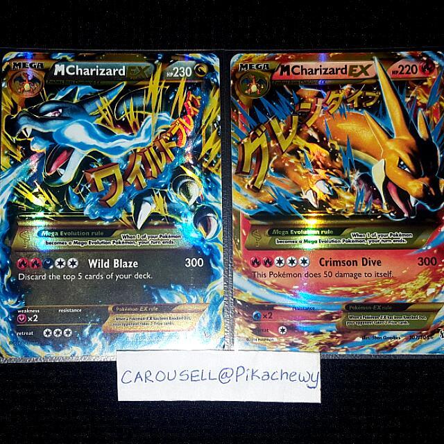 Mega Charizard Ex (Flashfire) Pokemon Cards, Toys & Games