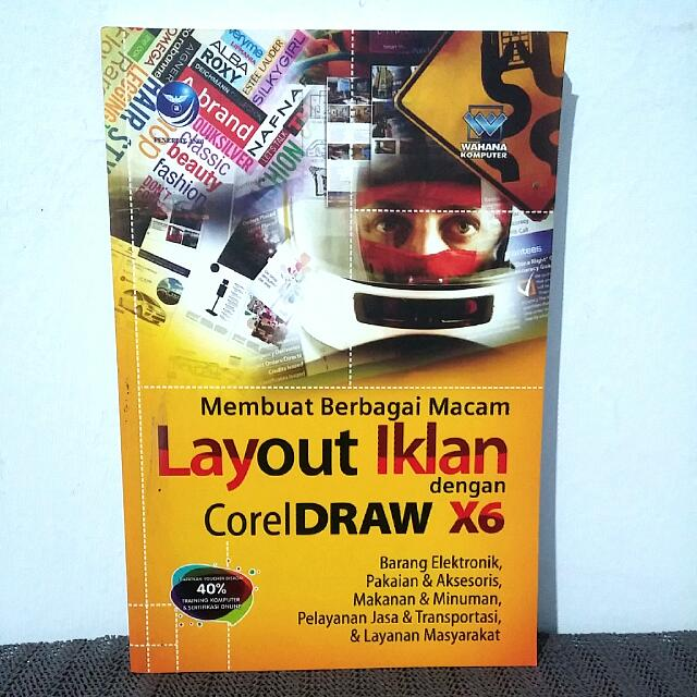 Membuat Layout Iklan Dengan CorelDraw X6