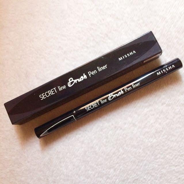 Missha Secret Line Brush Pen Liner
