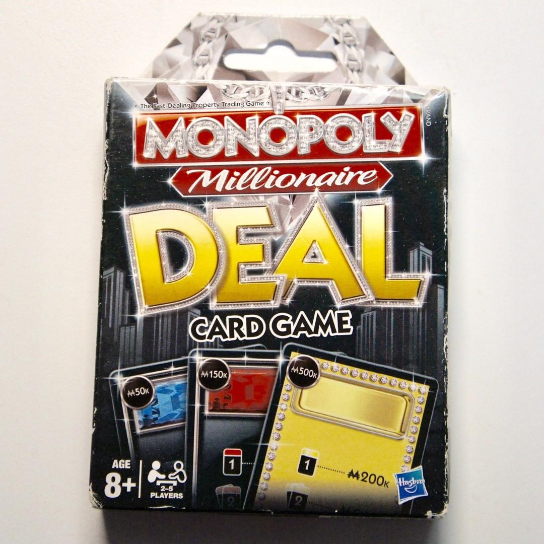 Monopoly Deal Millionaire Speical
