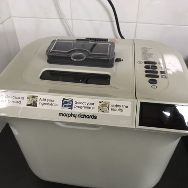 Morphy Richards Bread Maker Home Appliances On Carousell Morphy richards category of device: carousell
