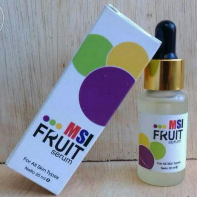Msi Serum Fruit