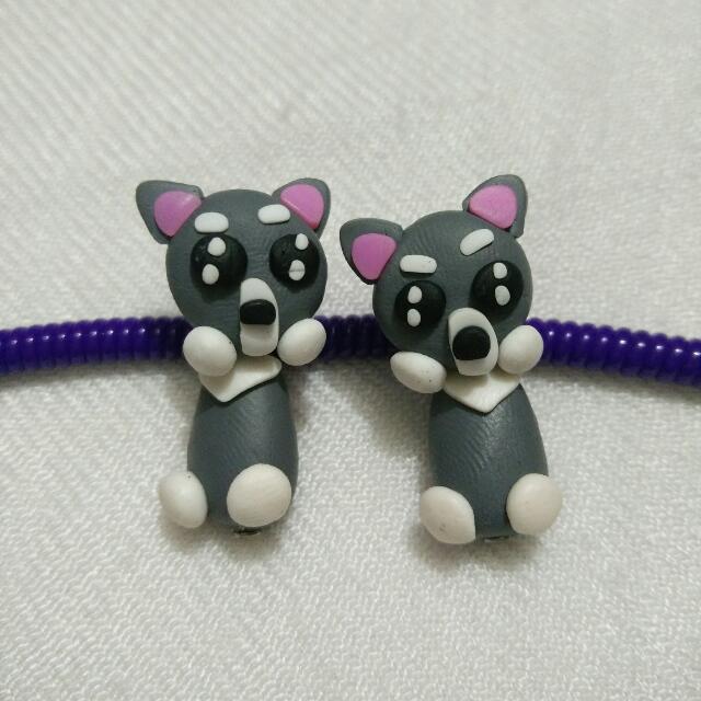[NEW] Cute Animal Clay Earing - Cat / Kitten