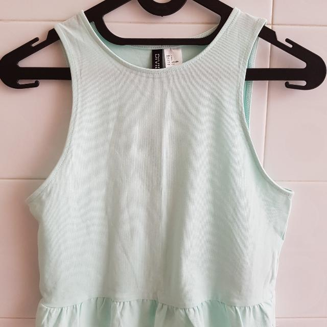 !NEW! Mint H&M Crop Top