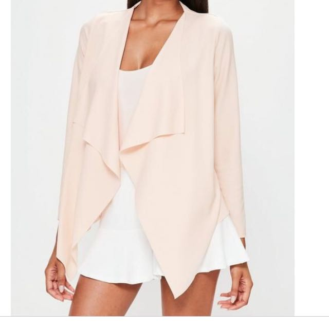 Nude Waterfall Blazer