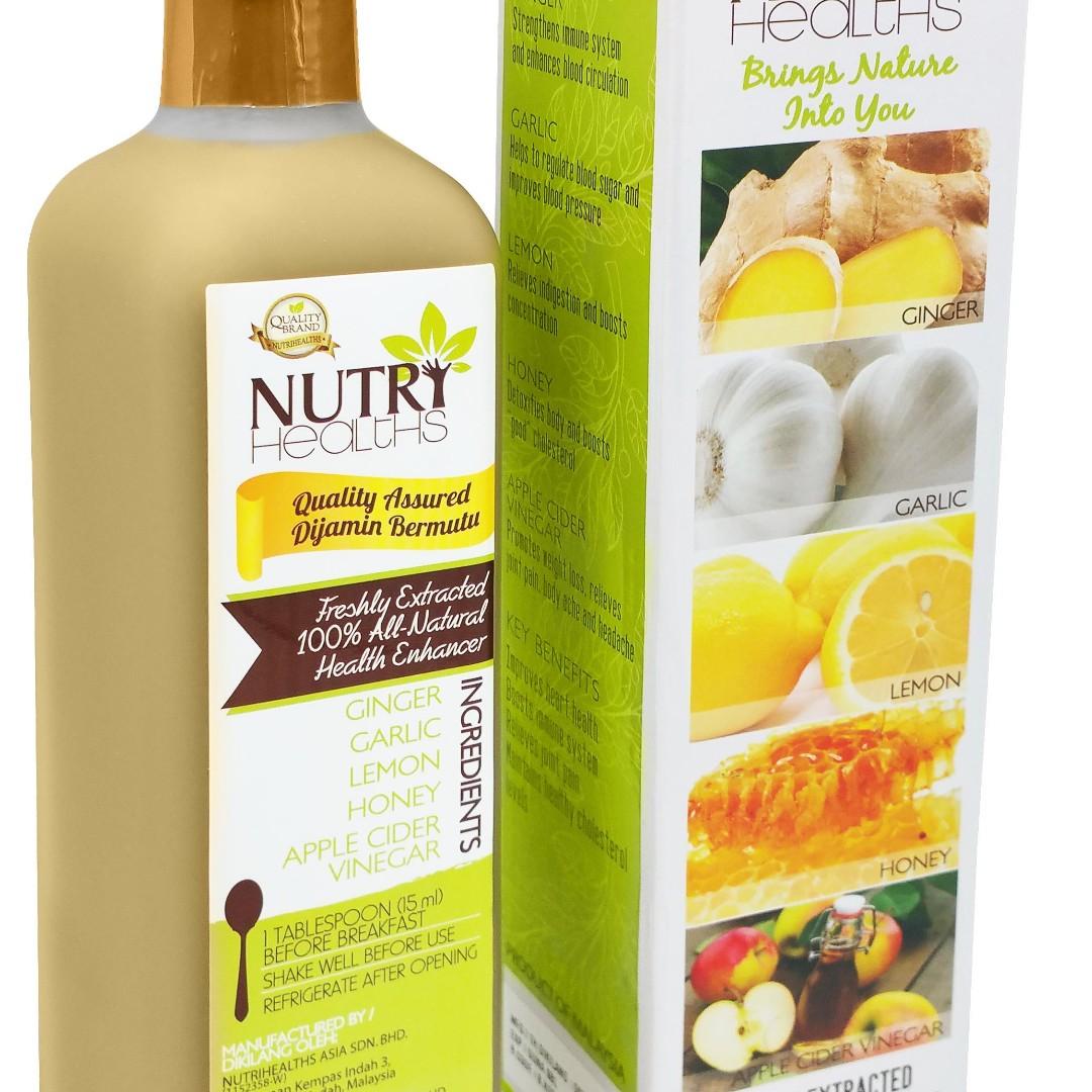 NUTRIHEALTHS HERBAL JUICE DRINK (MIRACLE CURE)