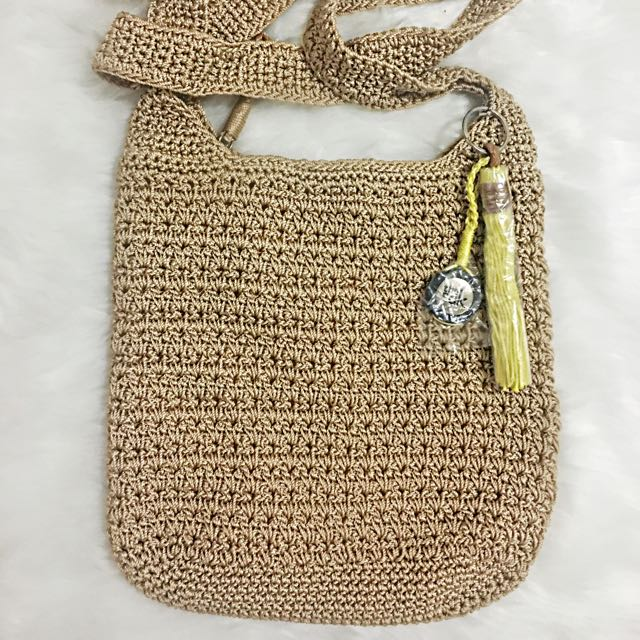 ORIGINAL The Sak Cross-body Crochet Bag