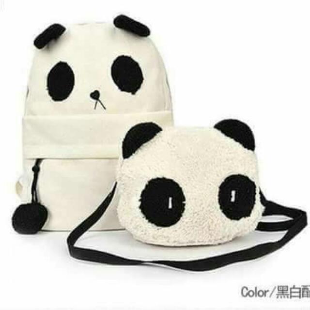 PANDA 2 In 1 Bag