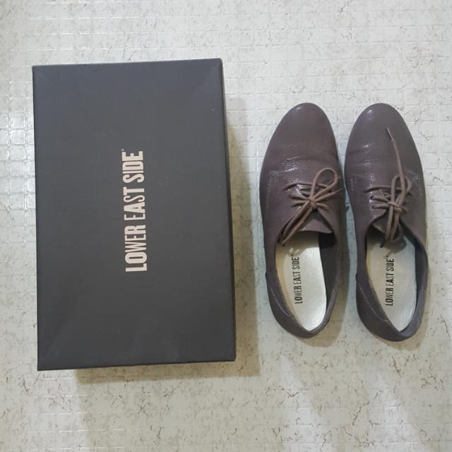 Payless Gray Oxfords