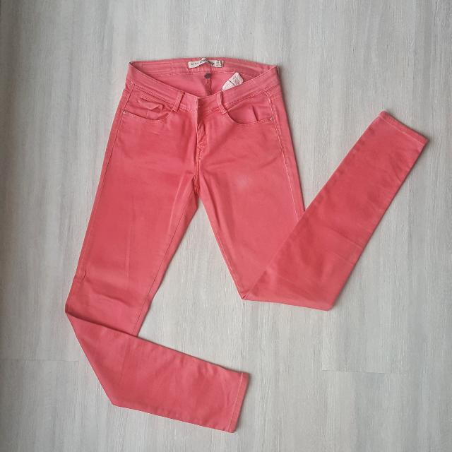 Zara Peach Maong Pants