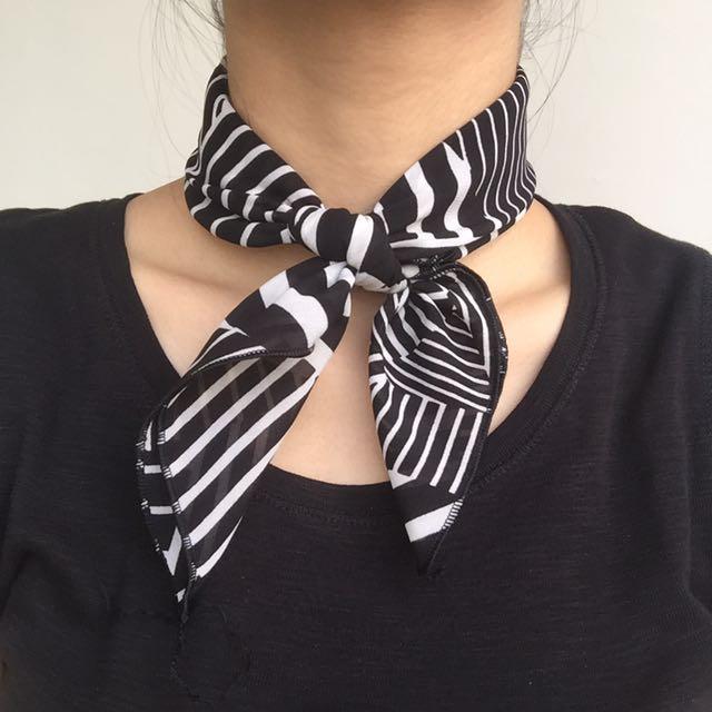 [NEW] Random Stripes Bandana/Neck Scarf