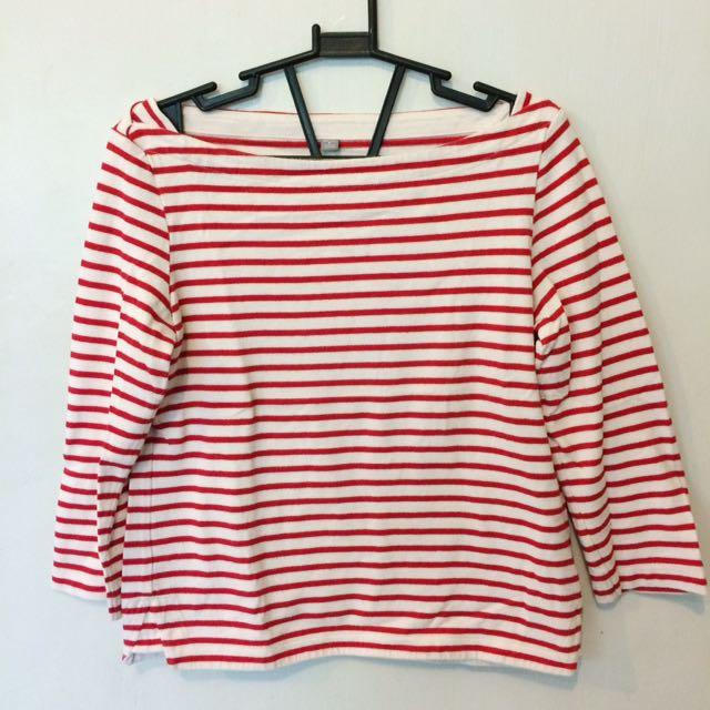 Red Striped Longsleeves