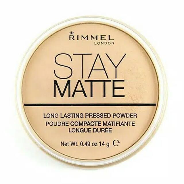 RIMMEL Stay Matte Pressed Powder 100% Original By. Rimmel UK
