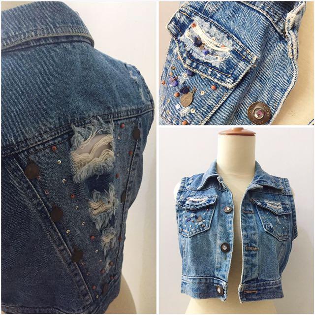 Rompi Jeans Vintage