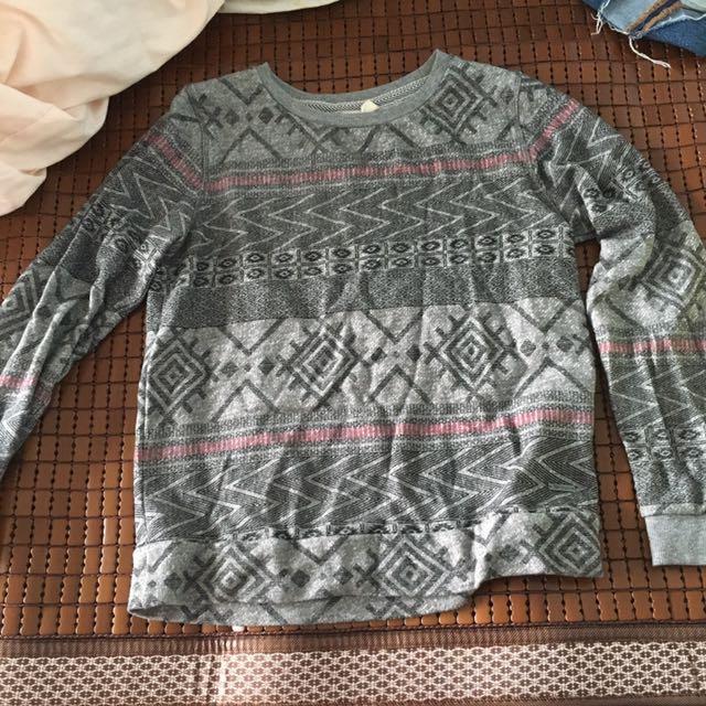 Roxy波西米亞風長袖