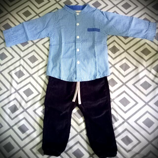 Shirt & Jogger Pants