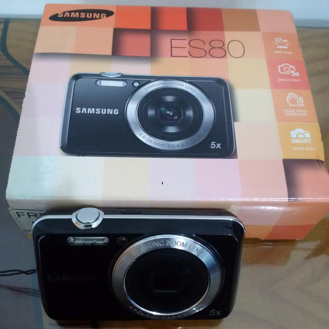 Samsung ES80 digital camera with 5x zoom
