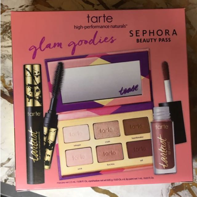 Tarte Glam Goos Sephora Gold Card Birthday Gift Health Beauty Makeup On Carousell Sephora Birthday Gift