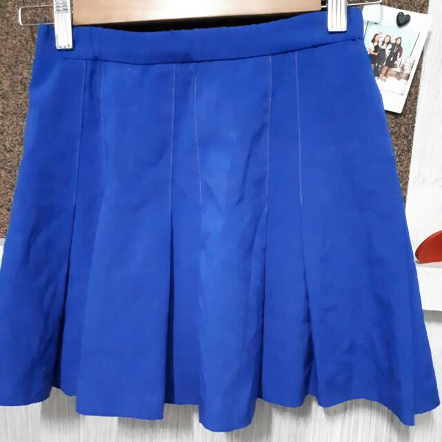 Tennis Skirt (Royal Blue)