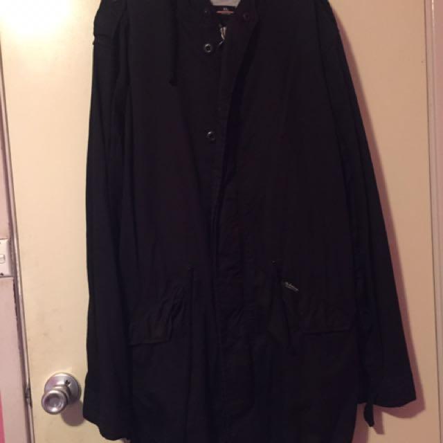 The Acadamee Brand Fishtail Jacket - XL